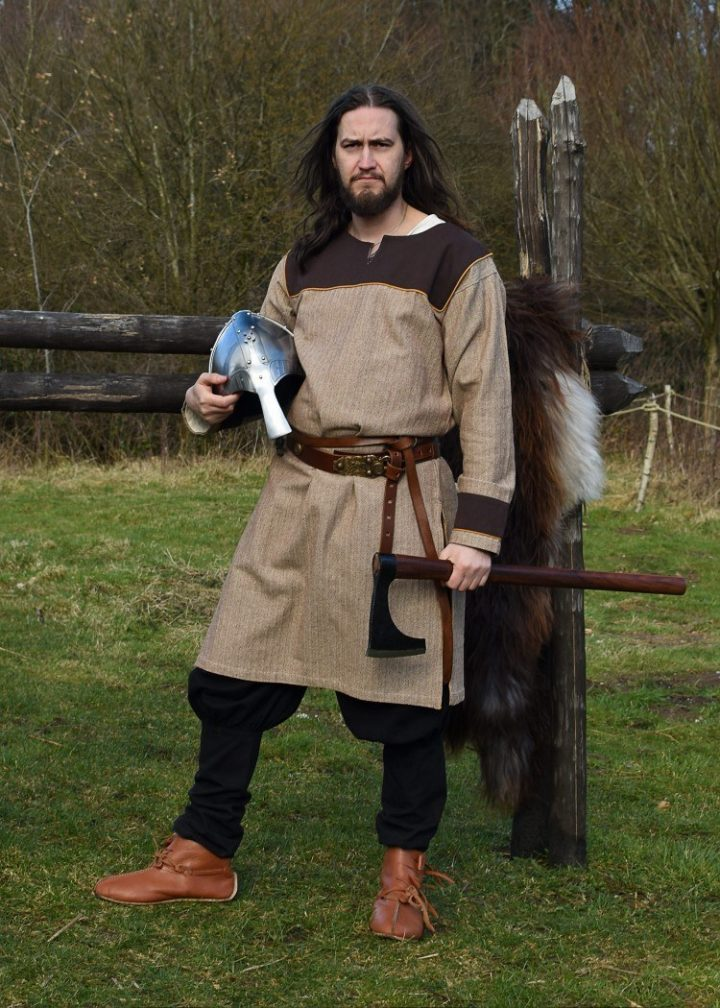 VikingTuniek in Bruin