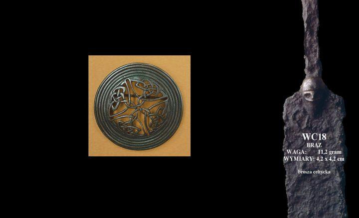 Keltische Fibula Brons