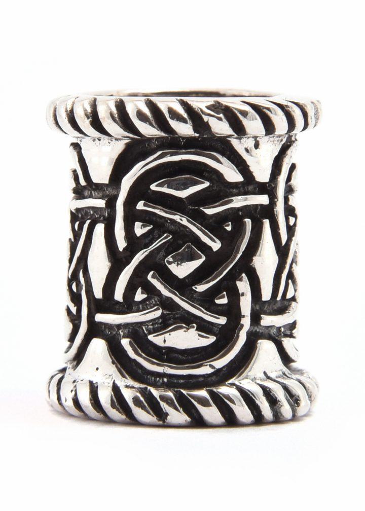 Baardkraal Keltische - Viking zilver