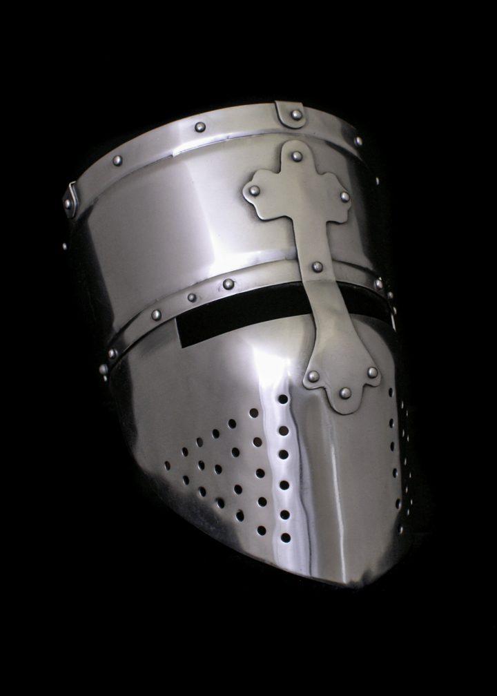 Kruisvaarders helm 12e eeuws