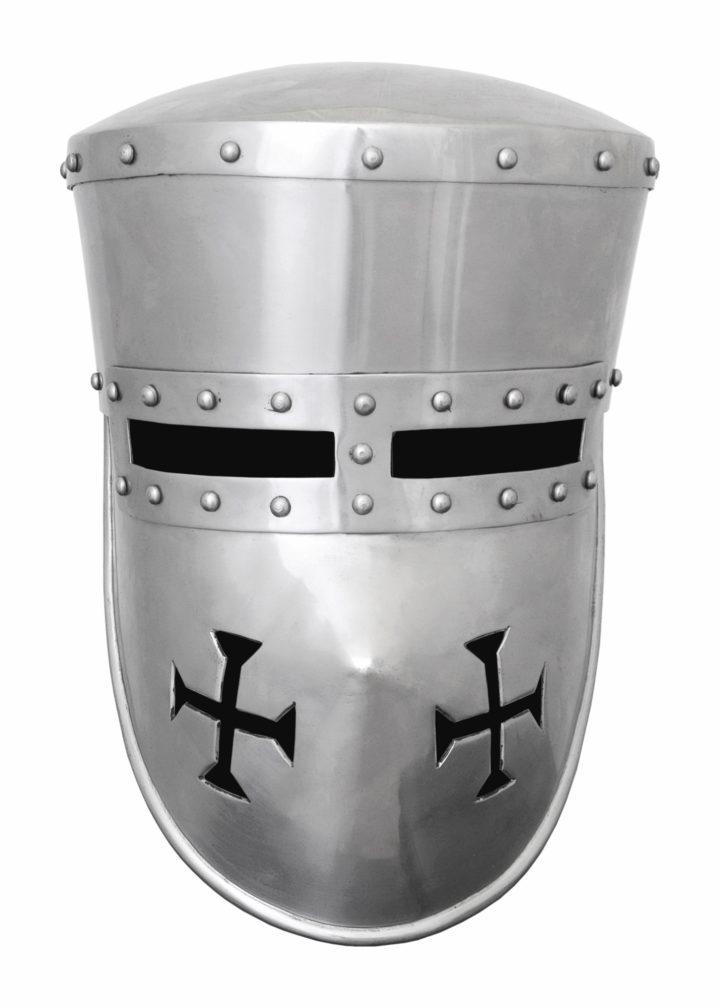 Kruisvaarders Helm 12e eeuws in S, M of L