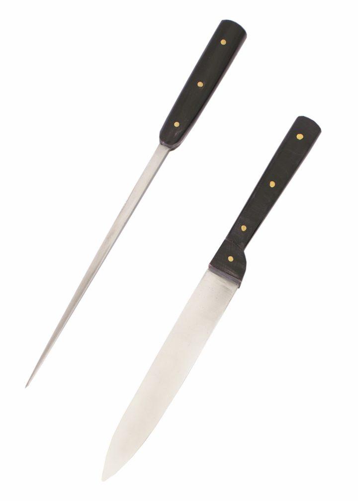 Mittelalterliches Tafelmesser mit Essdorn