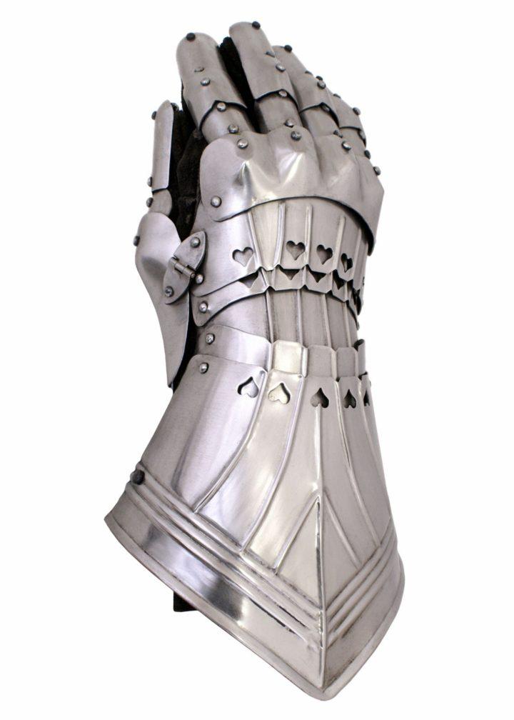 Mittelalter Pantserhandschuhe