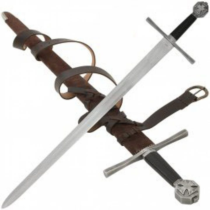 Mittelalter Ritter Schwert mit Scheide 12. Jahrhundert
