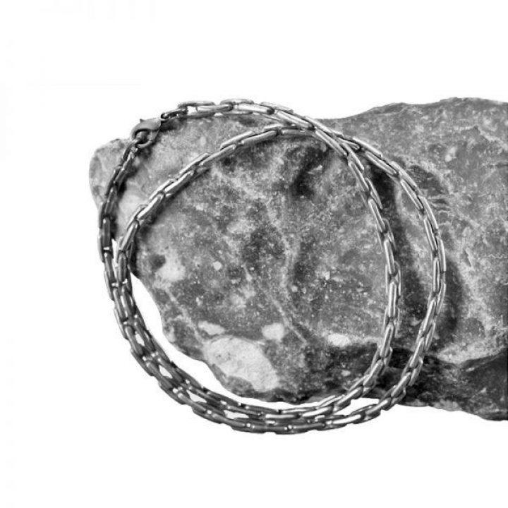 Wikinger Ankerkette 50 cm 925er Silber