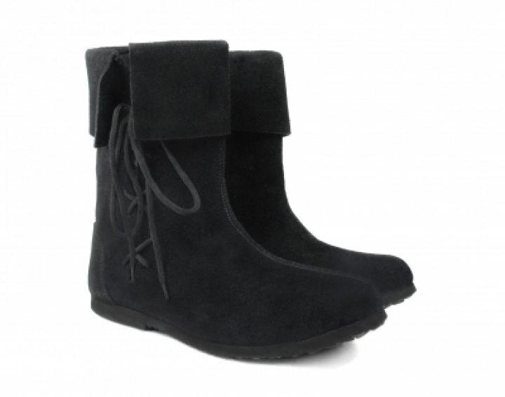Middeleeuwse Laarzen Zwart