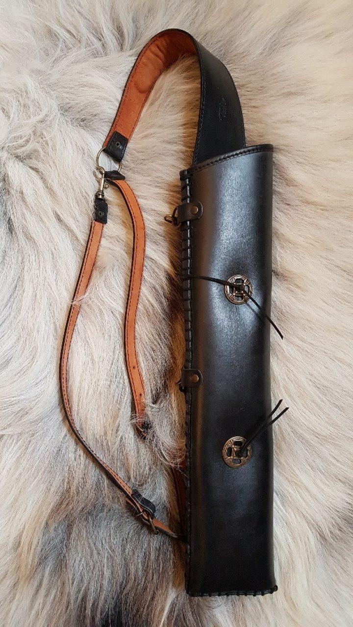 Pijlenkoker - Quiver voor op de rug of zijkant riem