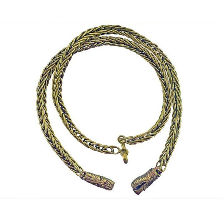 Wikinger Kette 55cm Bronze