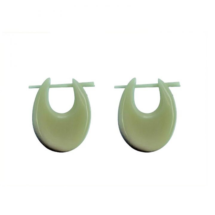 Wikinger Knochen Ohrringe