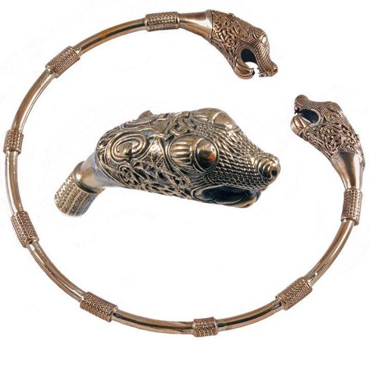 Wikinger Torque Bronze