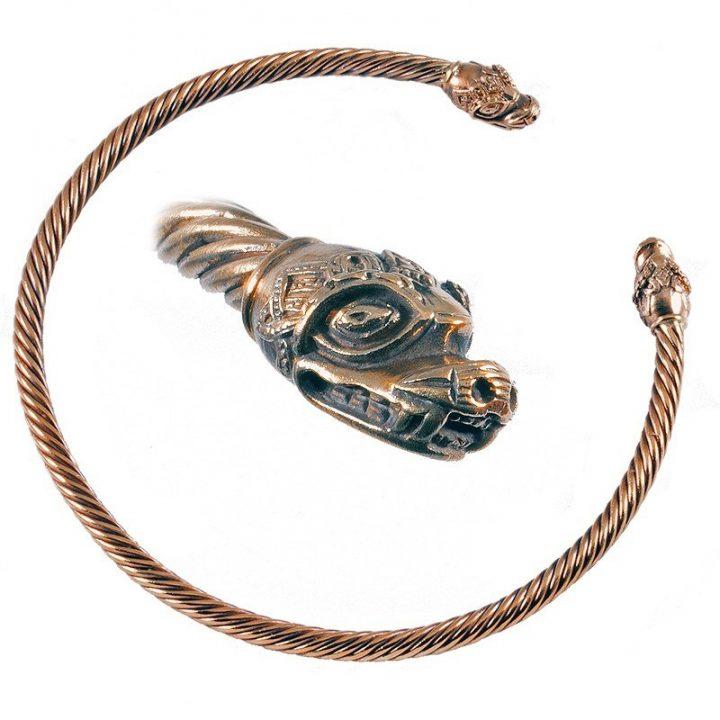 Viking Halsband Brons