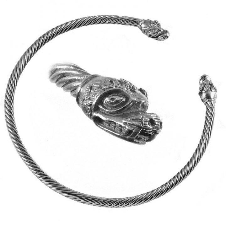 Wikinger Torque Silber