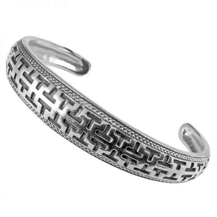Wikinger Armreifen in Silber