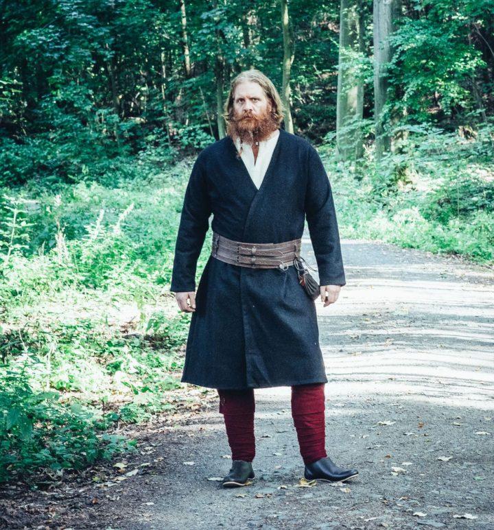Viking Kaftan Zwart