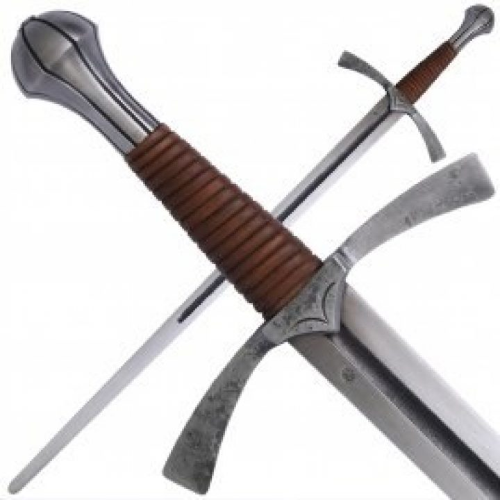 1 hand zwaard 15e eeuws battle ready