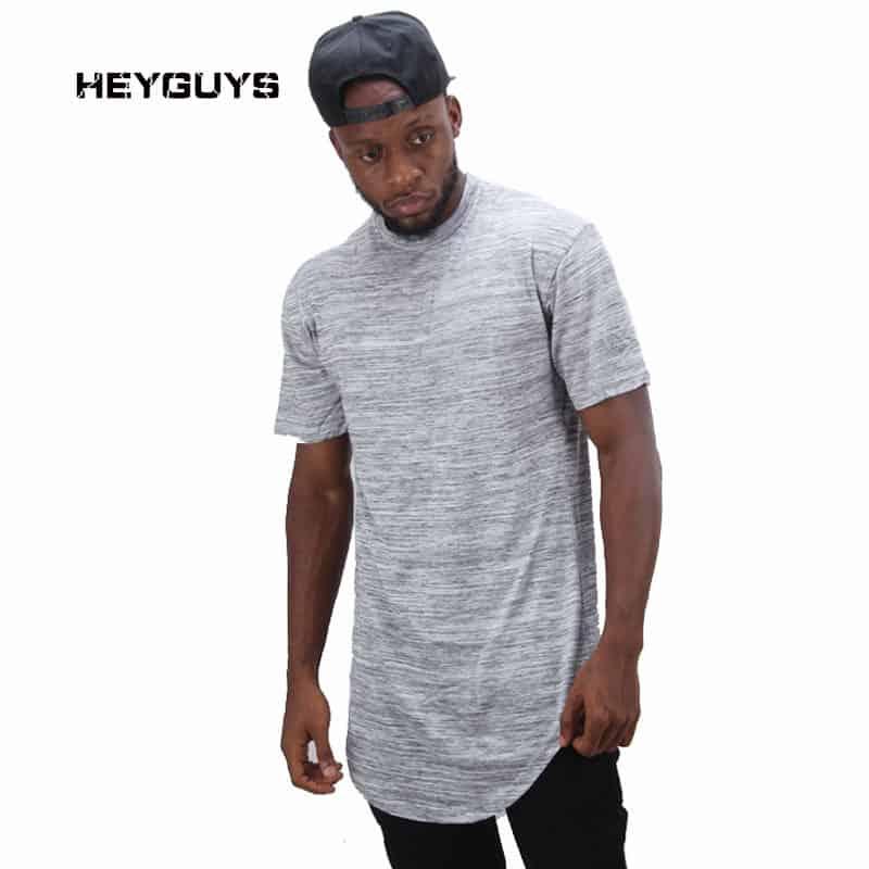 HEYGUYS Longline T-shirt
