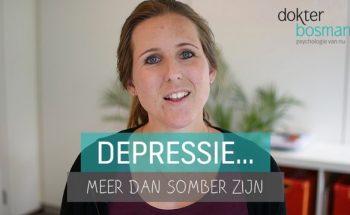 Depressie meer dan somber zijn