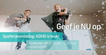 ADHD spelletjesmiddag