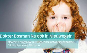 Netwerkbijeenkomst Dokter Bosman Nieuwegein