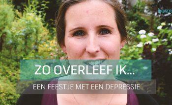 Vlog: Zo overleef ik... een feestje met een depressie