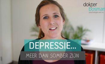 Vlog: Depressie... meer dan somber zijn