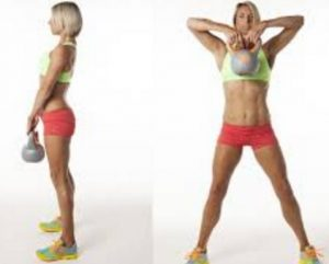weight loss exercise - Kettlebell