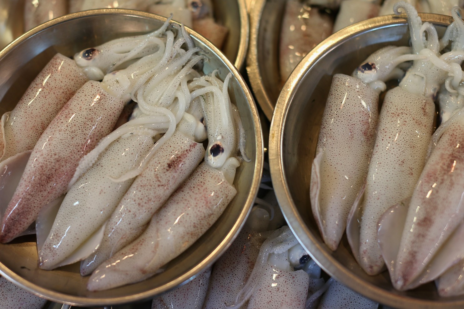Calorie, benefits and harm squid 87