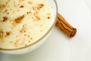 yogurt and cinnamon