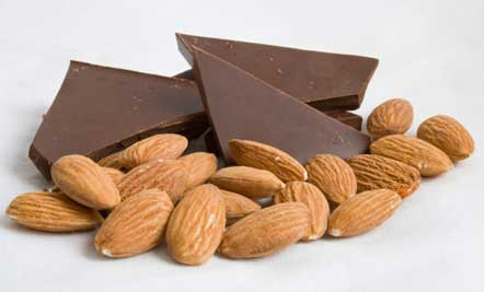 7 Powerful Health Benefits of Almonds and Dark Chocolate