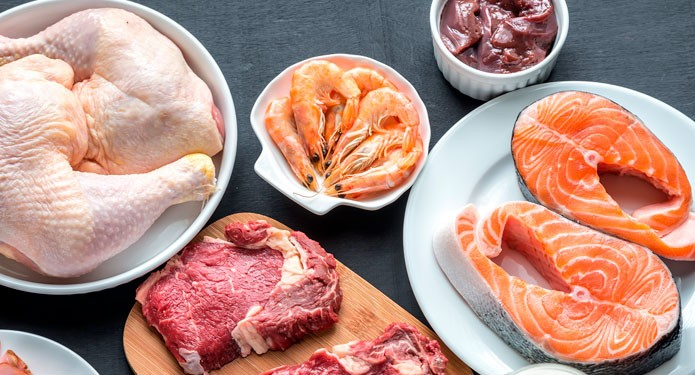 23 health benefits of meat poultry and fish 1 protein for Is fish considered meat
