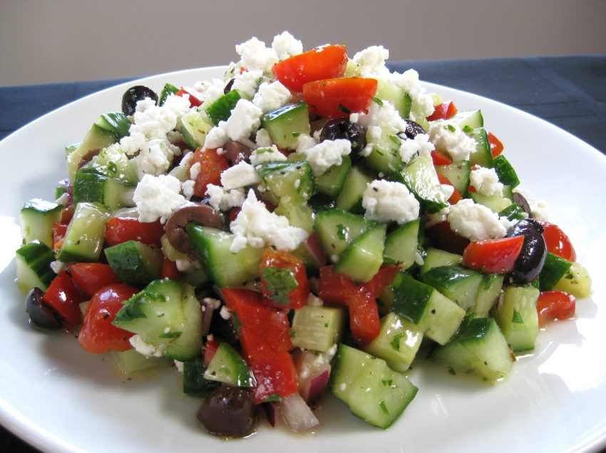 10 Health Benefits of Greek Salad #1 Proven
