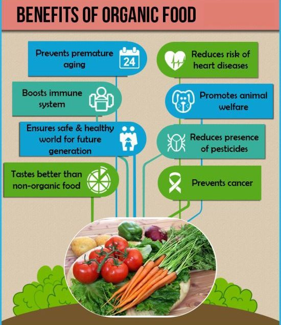 5 Science-Backed Health Benefits of Eating Organic