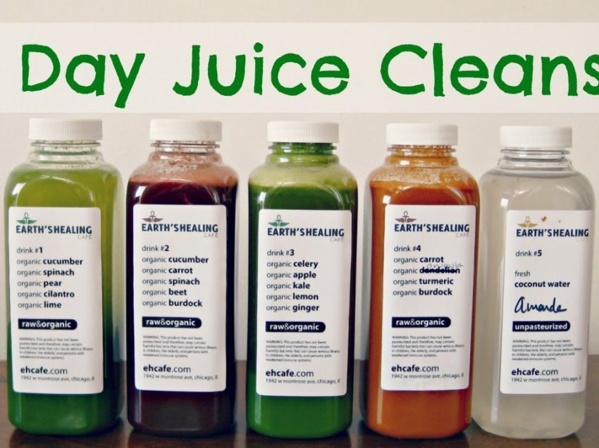 5 Top Health Benefits of 3-Day Juice Cleanse and The Recommendation