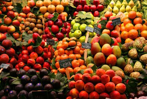 List of Fruits from Spanish and Health Benefits