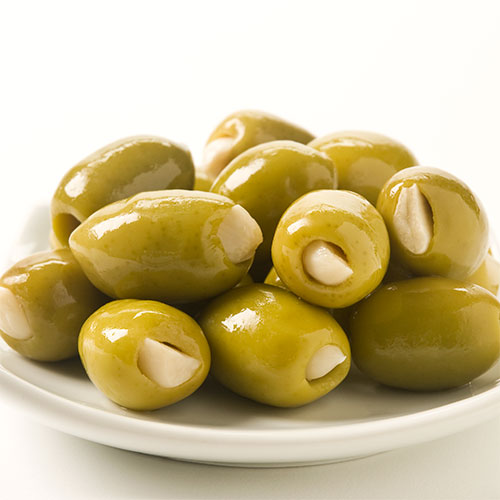 Health Benefits of Green Olives Stuffed with Garlic – Good for Heart