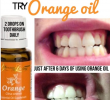 Unknown Benefits of Orange Essential Oil for Teeth Health