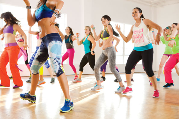 zumba once a week for physical health