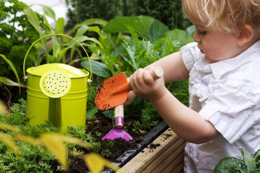 The Benefits of Gardening in Early Childhood