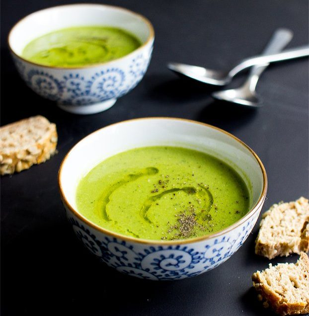 Health Benefits of Pea and Mint Soup – Tasty and Creamy Soup