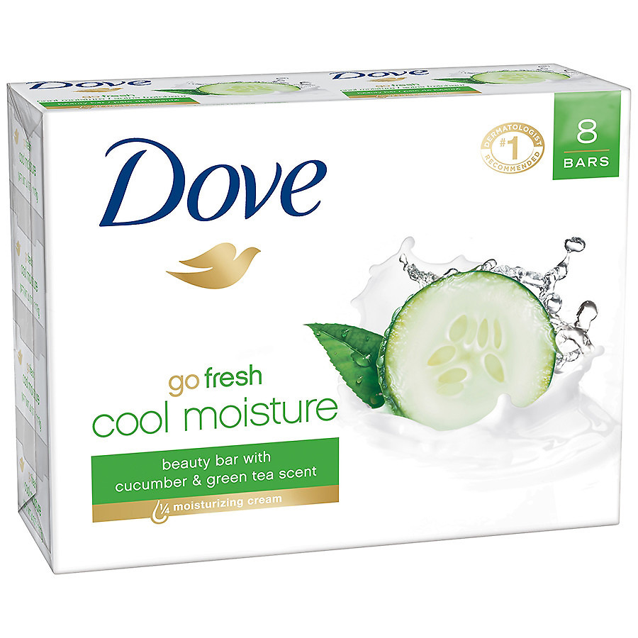 dove cucumber soap
