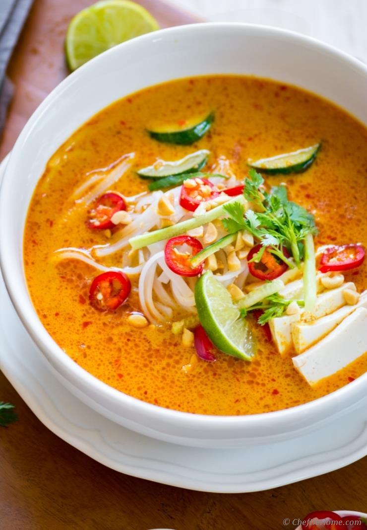 laksa soup for health