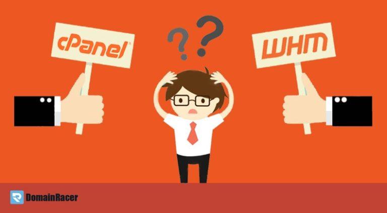 cPanel vs WHM : Comparison of 2 Hosting Control Panels