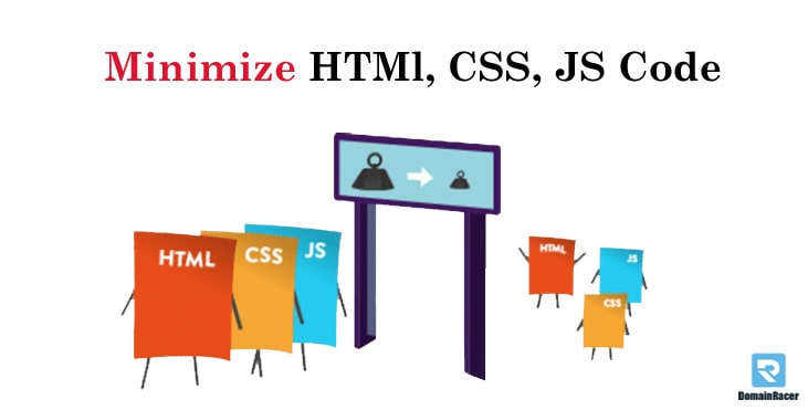 minimize css,html to optimize disk space