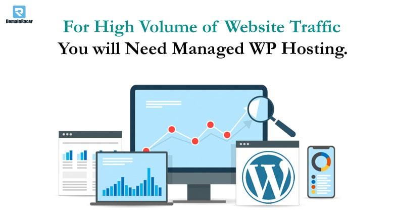 high taffic website needs managed wordpress hosting