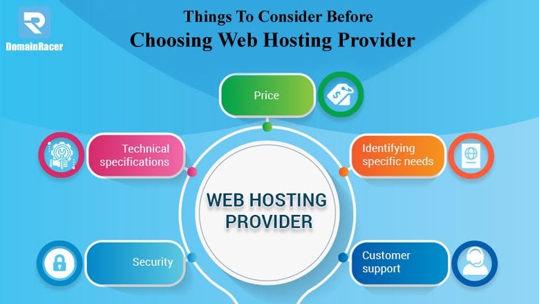 features to consider before choosting web hosting