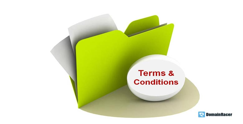 web hosting primary terms conditions