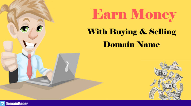 make money with selling domains