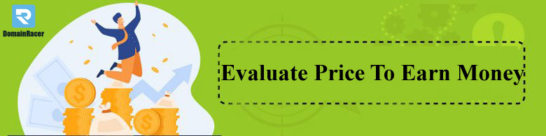 evaluate price-to sell domain name