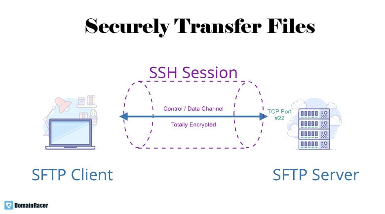 secure web hosting with secure file transfer