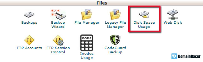 optimize your used hosting diskspace